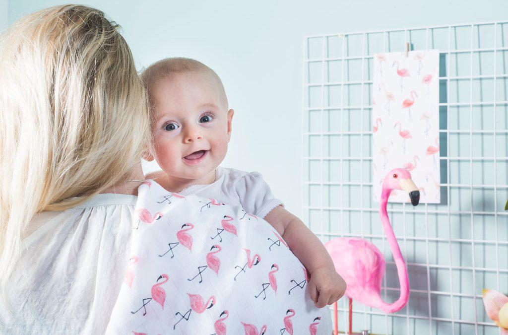 Hydrofiele luiers maken het leven van een moeder makkelijker