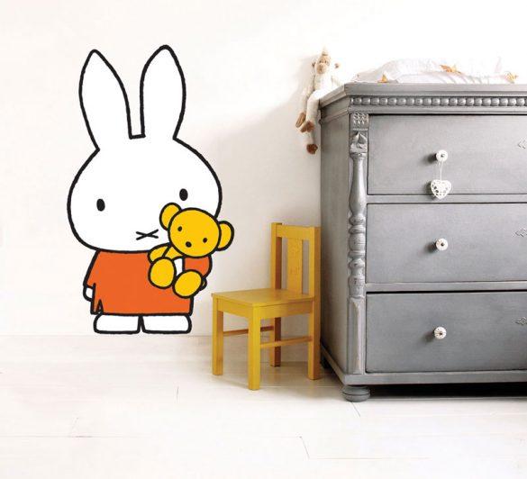 Muurstickers babykamer - Nijntje