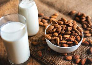 Melk & amandelen zwanger