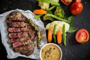 Rood vlees en groente als je zwanger bent