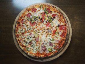 pizza salami zwanger